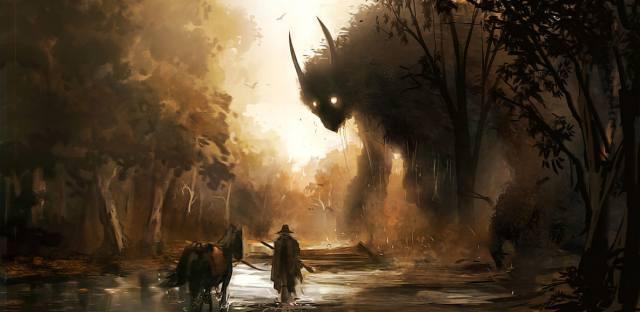 Даниэль Денжер художник американских ужасов
