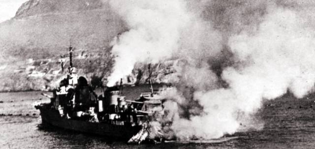 Операция Катапульта: Уничтожение Англией флота Франции