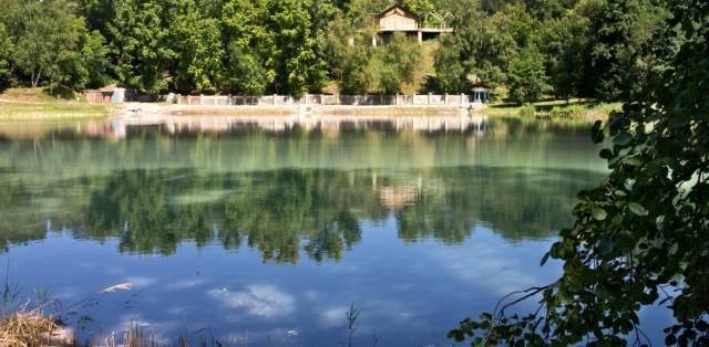 Серное озеро в Самарской области