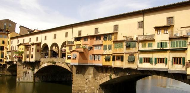Жилые дома на мостах