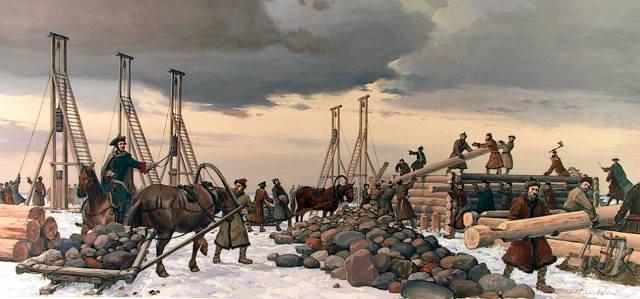 Строительство Петербурга — кто придумал миф о городе на костях?