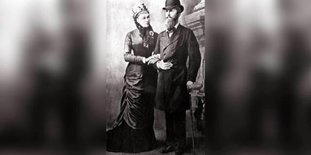 Наталья Пушкина и Николай Нассауский