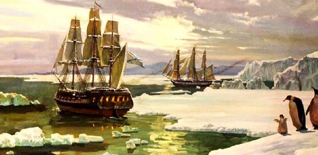 Антарктида — кто открыл и когда?