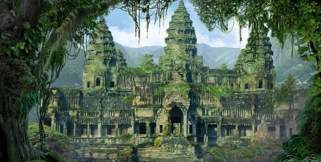 Заброшенные города в джунглях