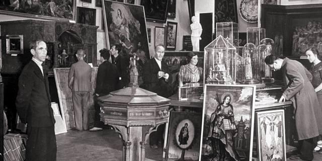 Распродажа музейных ценностей СССР