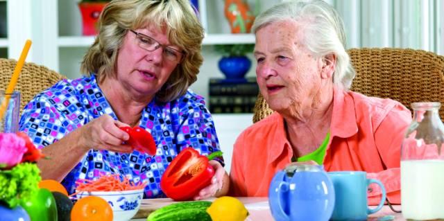 Питание пожилых людей кому за восемьдесят