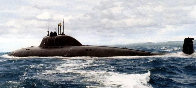 Проект 705: Титановая атомная подводная лодка Лира