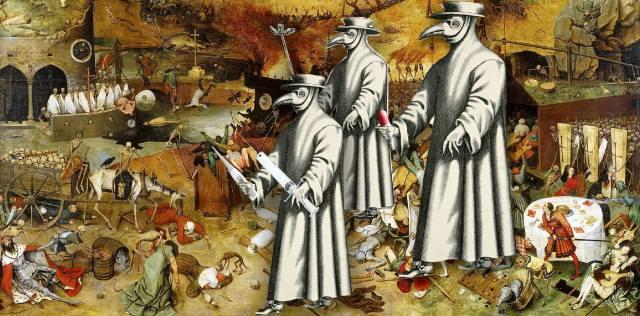 Чёрная смерть: Чума средневековья в Европе