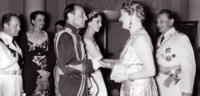 Павел Карагеоргиевич и его жена Ольга