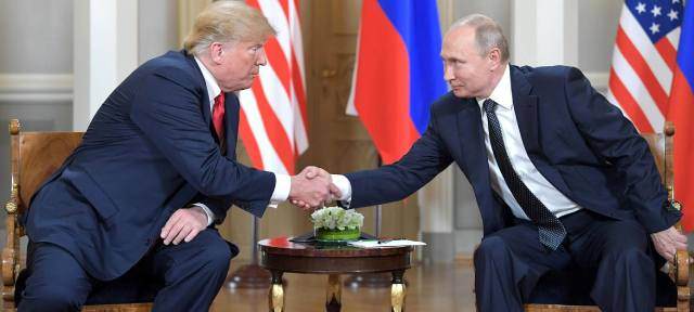 Путин и Трамп: Рука президента - линии в хиромантии