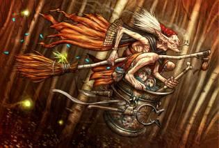 Фото: баба-яга в мифологии — интересные факты