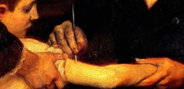 Как Екатерина II сделала первую в России прививку