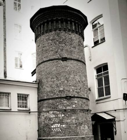 Тёплая башня Пеля во времена Виталия Виноградова