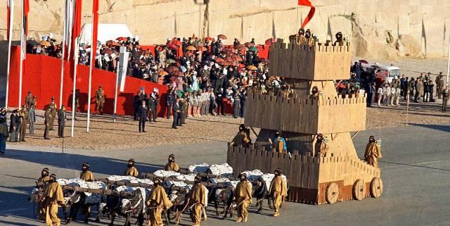 Вечеринка шаха Ирана: 2500-летие Персидской империи