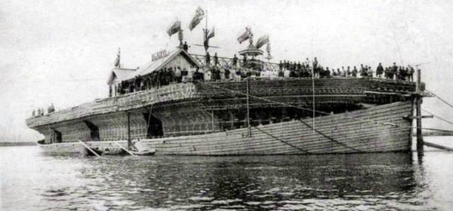Волжские беляны: Зачем в России строили одноразовые речные корабли?