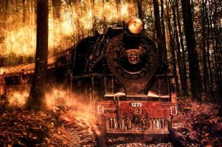 Фото: поезд-призрак — интересные факты