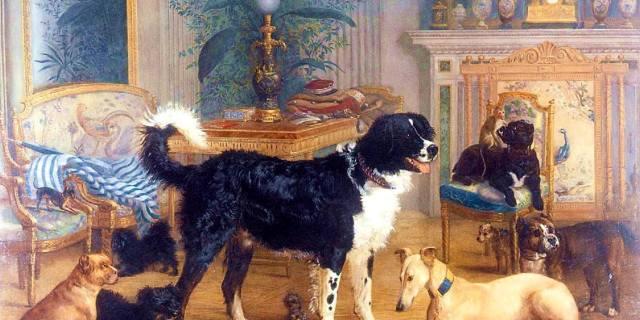 Домашние животные российских императоров