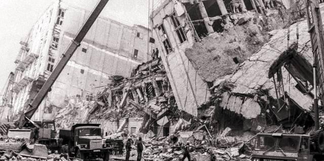 Армения — землетрясение в Спитаке
