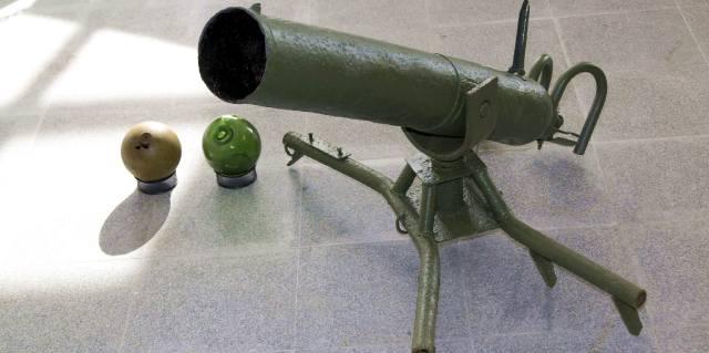 Ампуломет времён Великой отечественной войны