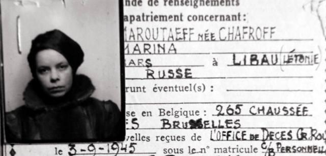 Марина Шафрова-Марутаева: Русская героиня сопротивления Бельгии