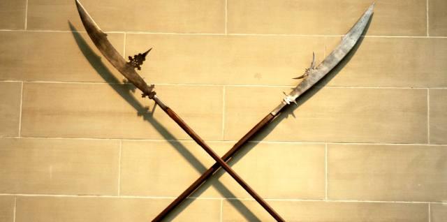 Боевая коса — оружие средневековья