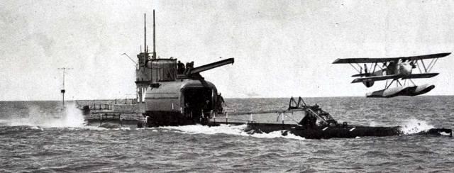 Подводные авианосцы Японии