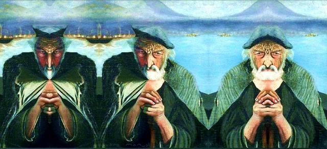 Тивадар Костка Чонтвари: Старый рыбак