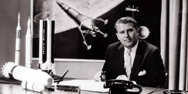 Вернер фон Браун и космическая программа США