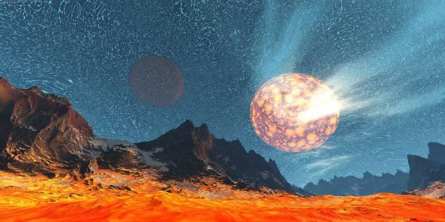 Где находится гипотетическая планета Вулкан?