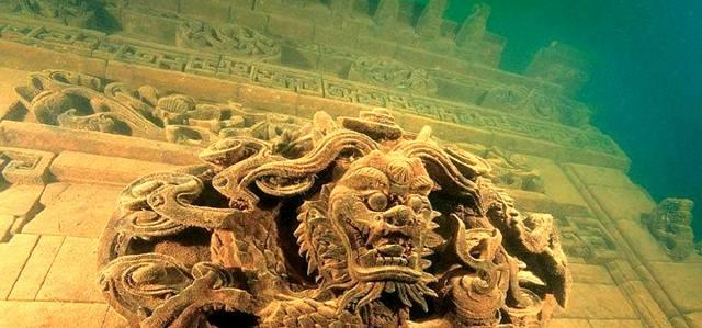 Подводные города Шичен и Йонагуни