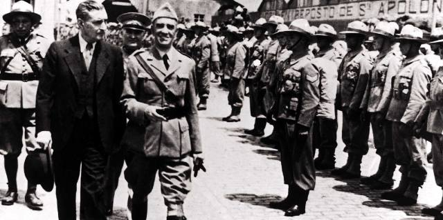 Антониуди Салазар: Португальский фашизм