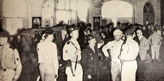 Ночь парашютистов в 1961 году