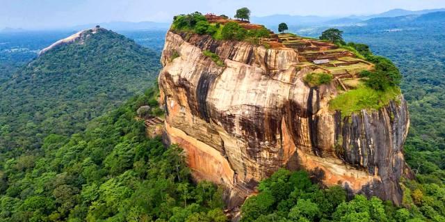 Плато Сигирия — Львиная скала на Шри-Ланке