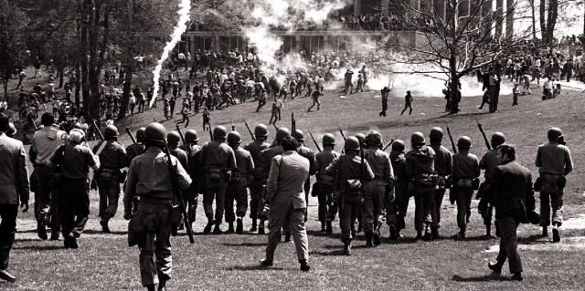 Расстрел студентов в Кентском университете США