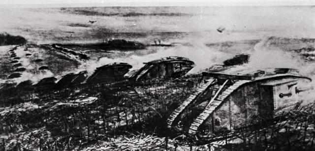 Битва при Камбре: Первое в мире применение танков на войне