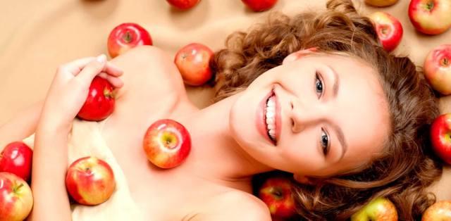 Яблоки в косметике для омоложения организма