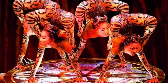 Цирковые акробаты Китая