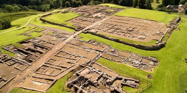 Военный лагерь Виндоланда древней Римской империи