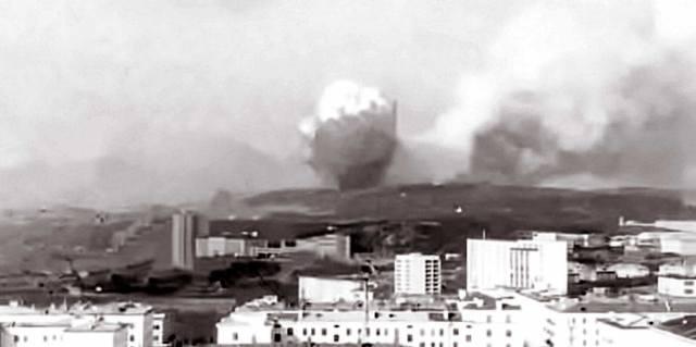 Взрыв на складах боеприпасов в Североморске: Самая загадочная катастрофа СССР