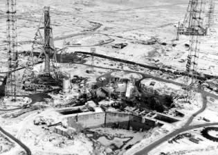 Фото: космодром Байконур — строительство, интересные факты