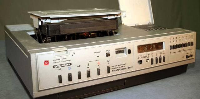 Электроника ВМ-12: Как был создан первый советский видеомагнитофон?