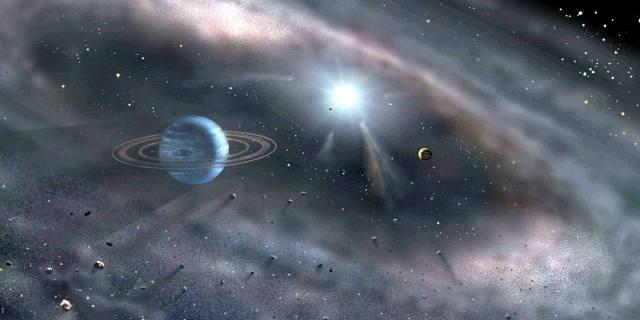Пояс Койпера - где находится в Солнечной системе